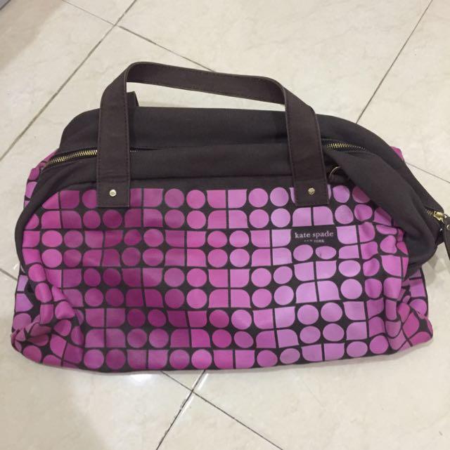 Katespade Travel/ Gym Bag ORI