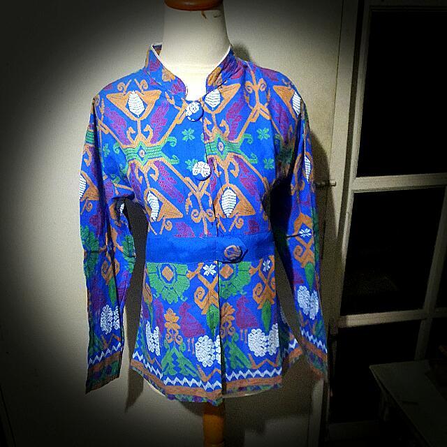 Kemeja Atasan Blouse Baju Batik Rangrang