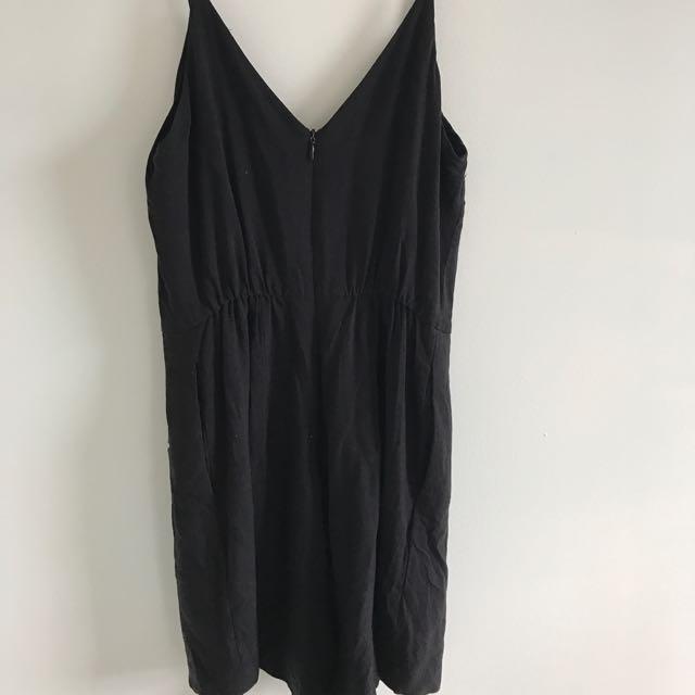 Kookai Playsuit (black)