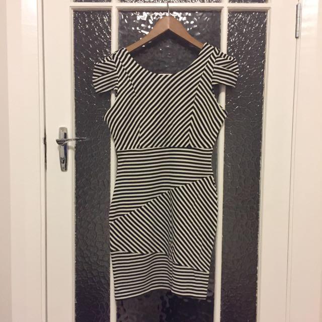 Lipstick London Striped Dress