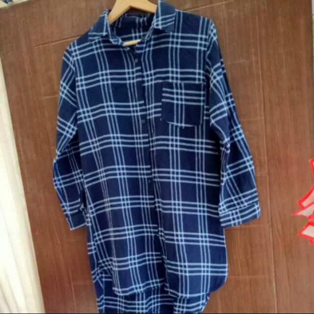 Long Shirt Flanel