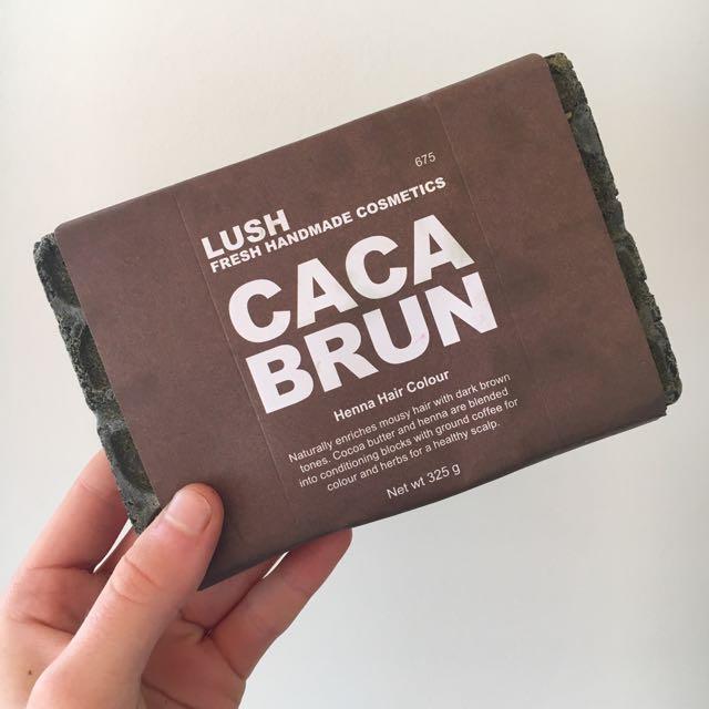 Lush Caca Brun Henna Hair Dye