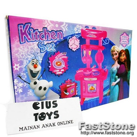 Mainan Anak Masak Masakan Kitchen Set Frozen Murah Toys Collectibles Mainan Di Carousell