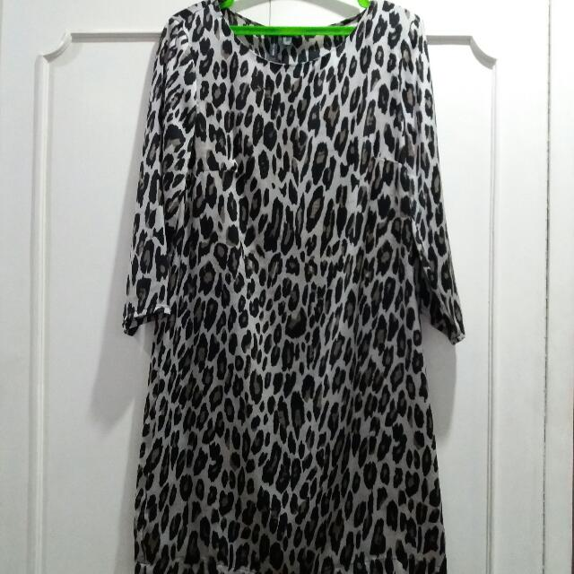 Mango - Mng Collection Leopard Print Dress