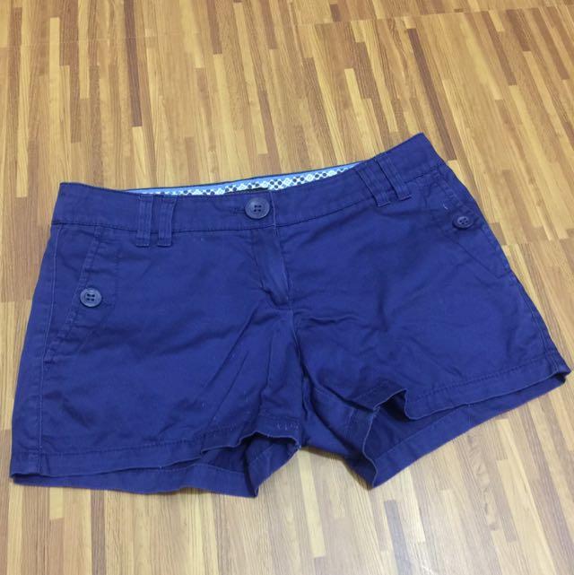 REPRICED!!! Mango Shorts (Navy Blue)