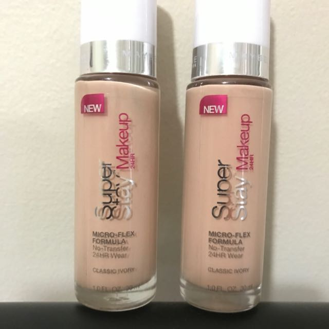 Cheap! Maybelline Super Stay Makeup - Classic ivory