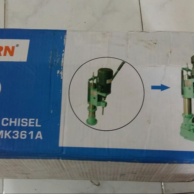 Mesin Bobok Kayu/Mortising Chisel Modern MK361A, Looking For on Carousell