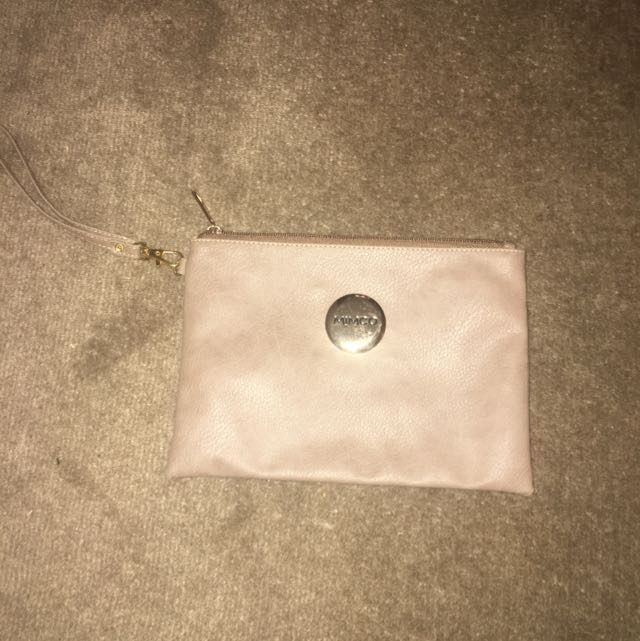 Mimco Pouch Brown Leather (fake)