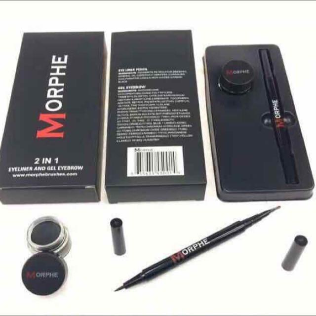 Morphe 2in1 Brow Gel And Eyeliner