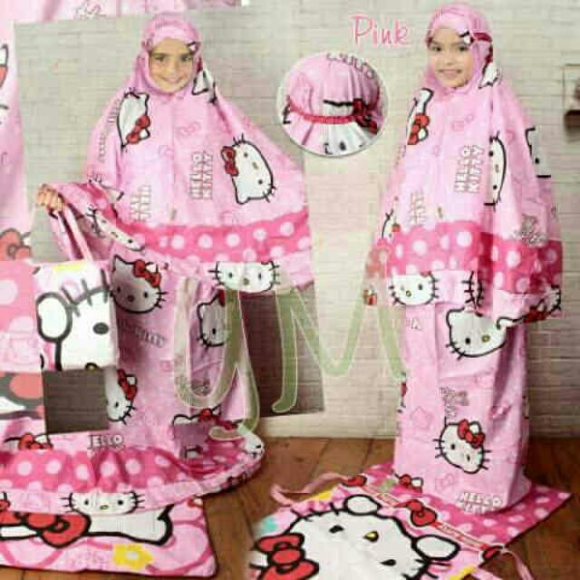 Mukena Hello Kitty