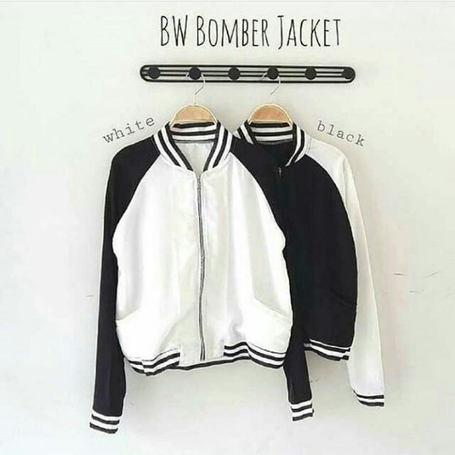 NEW Bomber Jacket [Black Only]