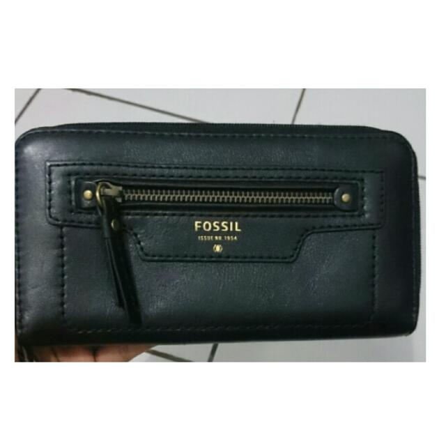Reprice Original New Without Tag Fossil Wallet
