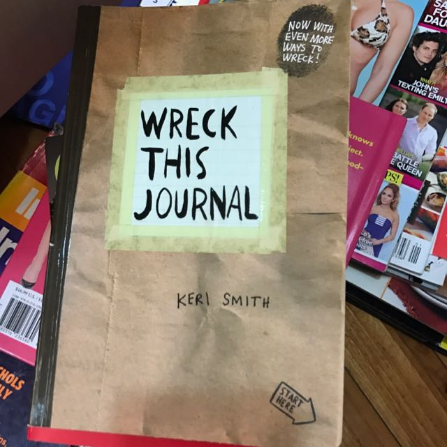 NEW Wreck This Journal