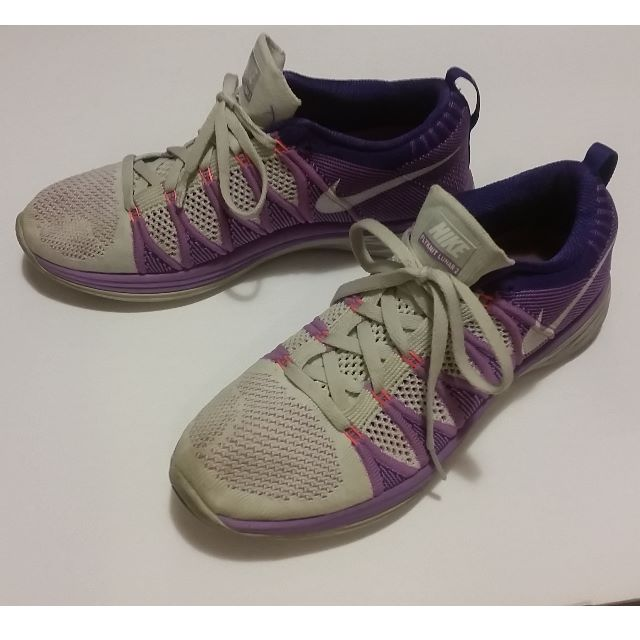 Nike Flynit Lunar 2 Athletic Women's Running Shoes Size 8.5