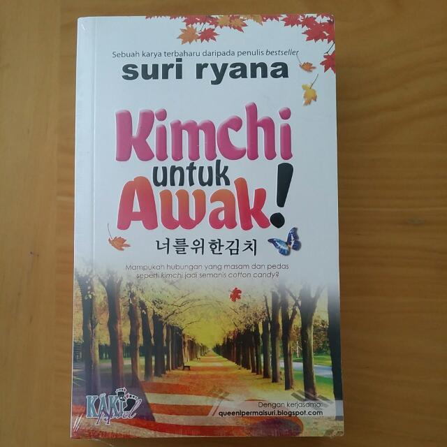 [Malay Novel] Kimchi Untuk Awak