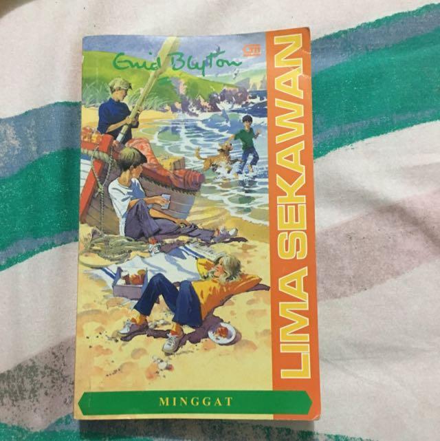 Novel Lima Sekawan