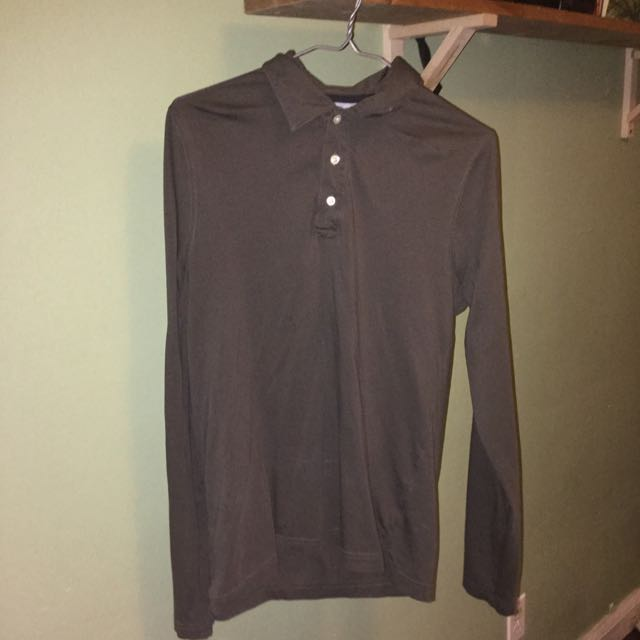 ON SALE Small Hilfiger Button Up Long Sleeve