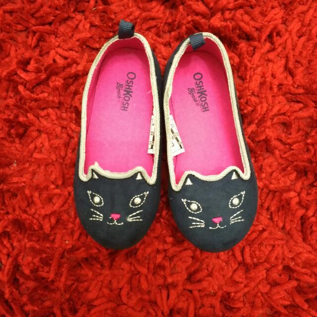 Oshkosh Kitty Flatshoes