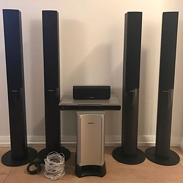 Pioneering Home Theatre Surround Sound System Package