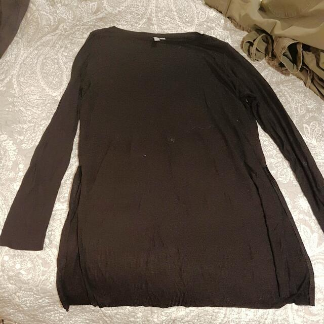 Plain Black Asos Top