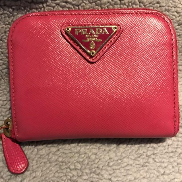 prada Small Wallet