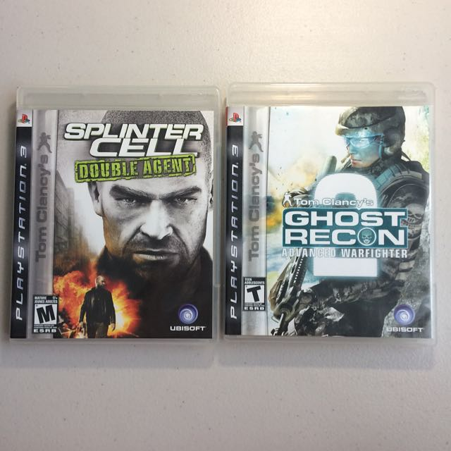 PS3 Tom Clancy