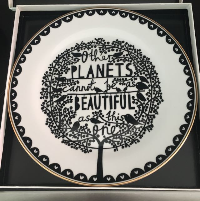 Rob Ryan Decorative Plate
