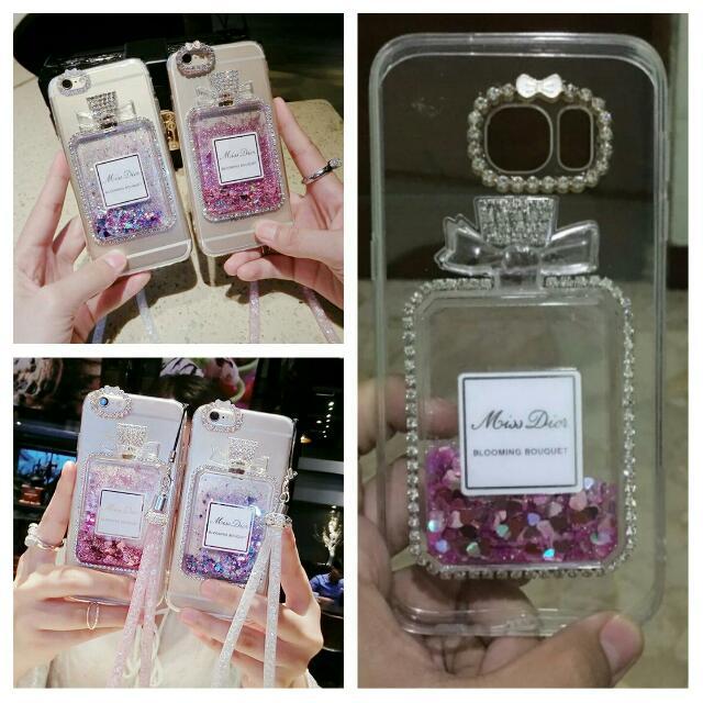 s6 edge PRE ORDER perfume bling case