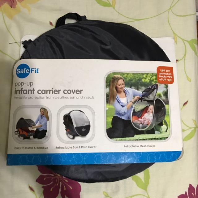 Safe Fit Infant Carrier Cover