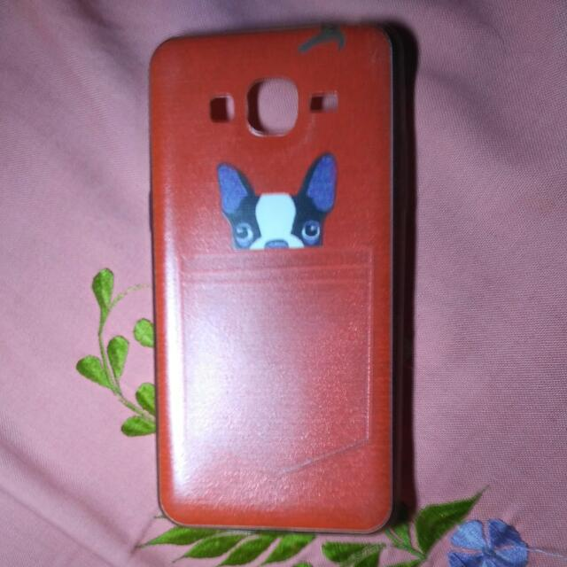 Samsung Grand Prime SoftCase Dog