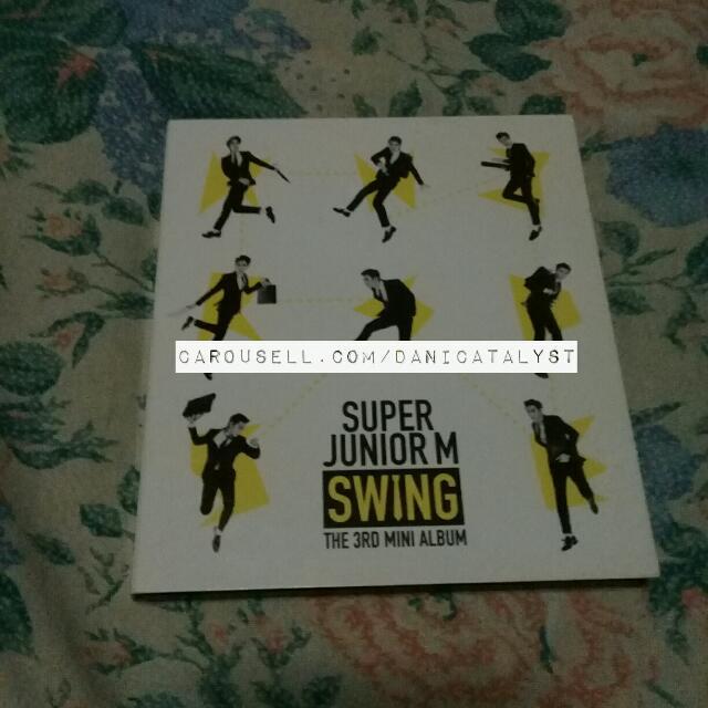 Super Junior M 3rd Mini Album SWING
