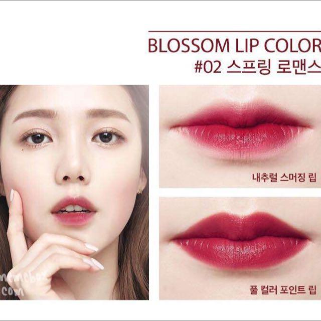 The Memebox* Pony Blossom Lipstick #2