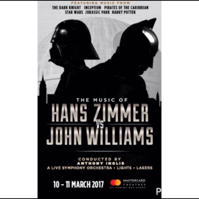 The Music Of Hans Zimmer Vs John Williams Entertainment Events Concerts On Carousell