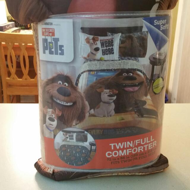 The Secret Life Of Pets Twin/Full Size Comforter