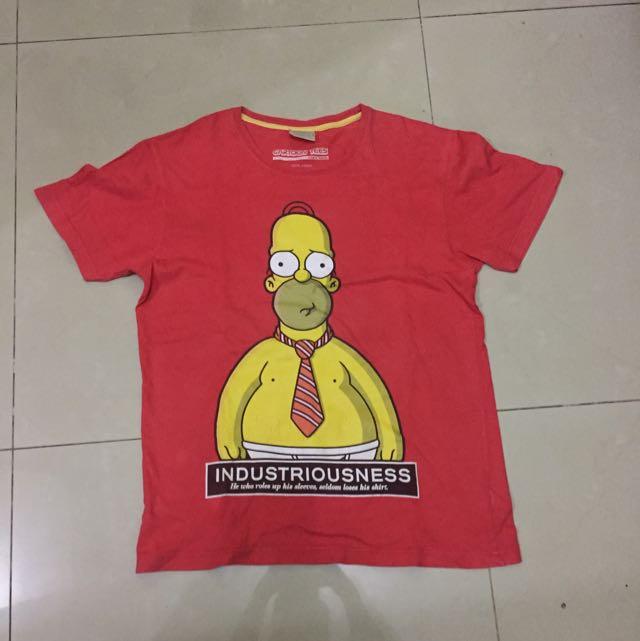 the simpsons tshirt