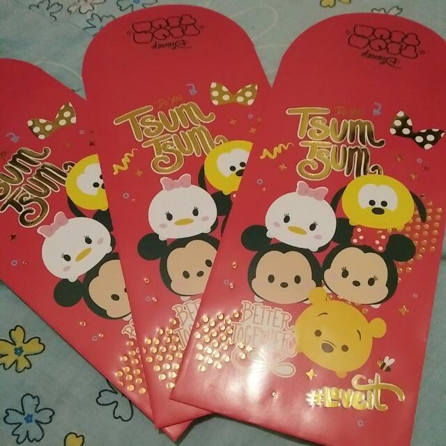 Tsum Tsum 紅包袋