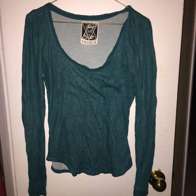 Turquoise Talula Shirt