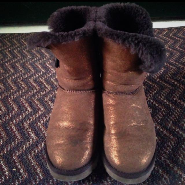 Ugg Genuine Leather 雪靴