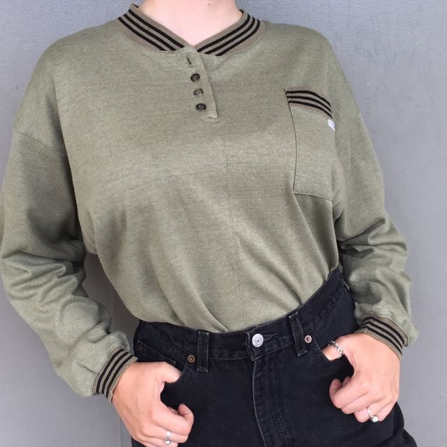 Vintage Cherokee Buttoned Jersey