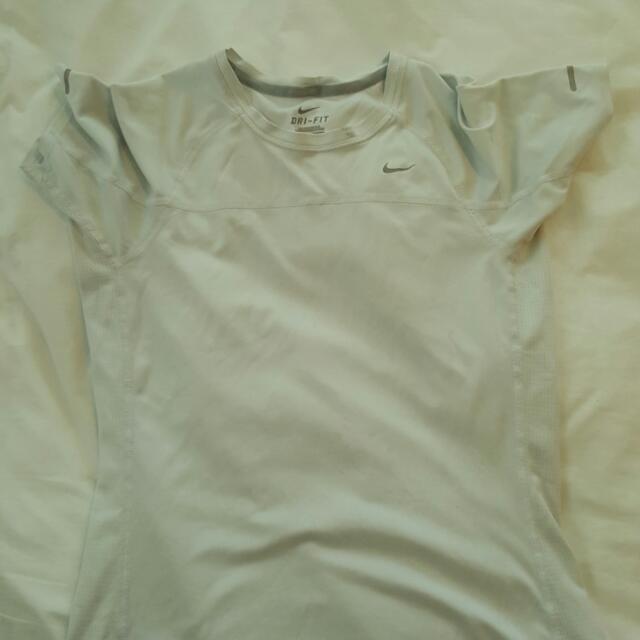 White Nike Tshirt