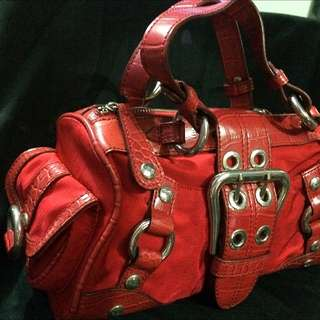 Guess Red Handbag