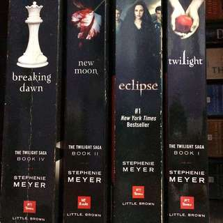The Twilight Saga By Stephanie Meyer