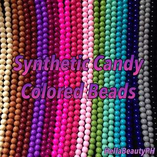 Synthetic Round beads