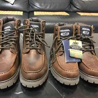 SKECHERS工作靴 24.5cm Us6.5