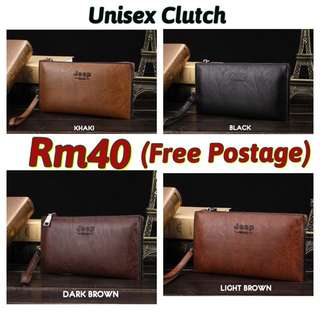 (free Postage) Unisex Business & Casual Clutch Jeep
