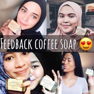 BEAUTY CARE ITEMS - COFFEE SOAP 😍