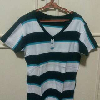 Set Of 2 Preloved Shirts With Stripes
