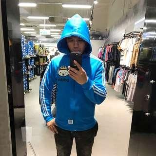 Adidas 三葉草 運動外套L號(XL可穿)