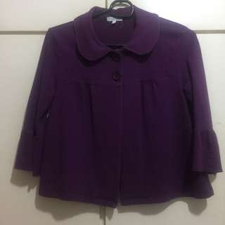 Fullfilt Purple Cardigan/jacket