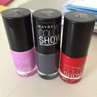 Maybelline Colour Show Nail polish